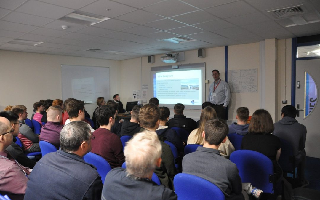 InSite present to Pembrokeshire College Students
